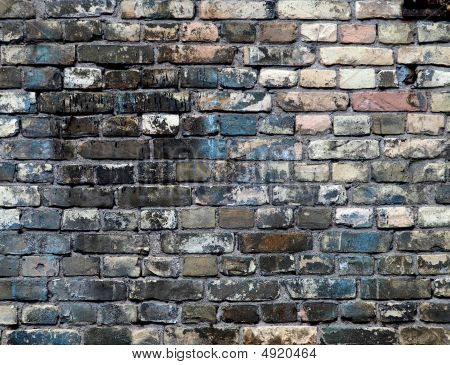 Detailed Brick Wall Background - Brick Wall Texture Set #2