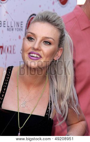 LOS ANGELES - AUG 9:  Perrie Edwards at the Teen Vogue's Back-To-School Saturday Kick-Off Event at the The Grove on August 9, 2013 in Los Angeles, CA