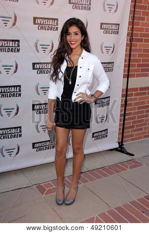 LOS ANGELES - AUG 10:  Anjali Dea at the ���¯���¿���¼���¯���¿���¼���¯���¿���¼Invisible Children Fourth Estate's Founders Party at the UCLA on August 10, 2013 in Westwood, CA