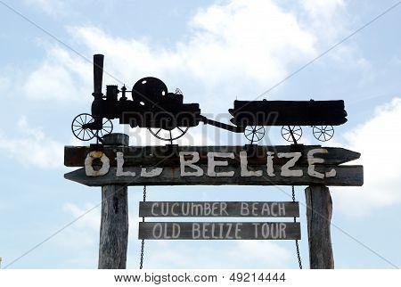 Museu de Belize antigo e praia do pepino assinam em Belize City