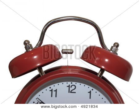 Big Red Alarm Clock