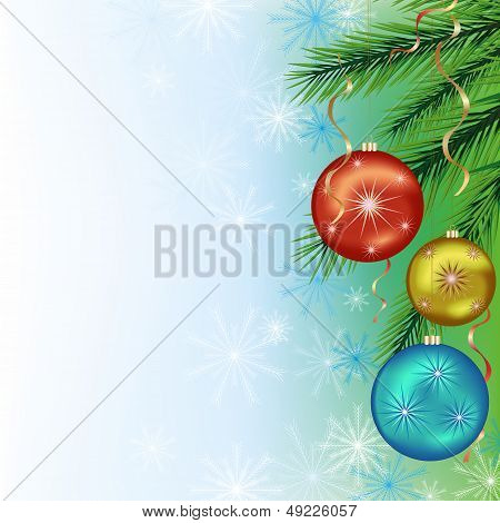 Festive Background For New Year And Christmas