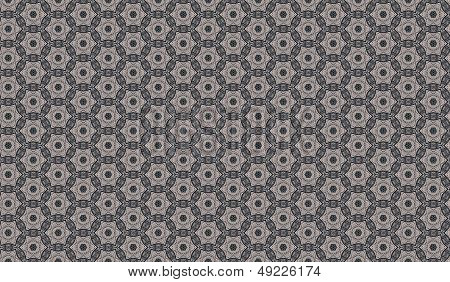 Lace Seamless Bitmap Background Pattern - Texture Tile