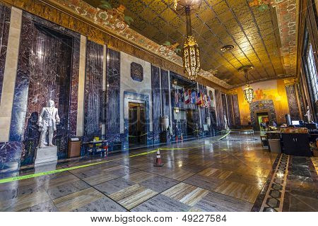 Entrance Hall In In Louisiana State Capitol