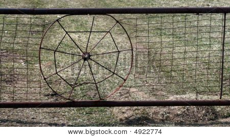 Spider Web Fence