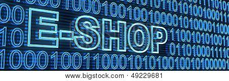 E-shop e código Binaty