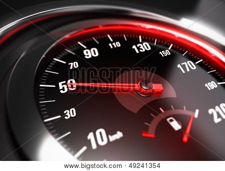 Reducing Speed Safe Driving Concept - 50 Km H