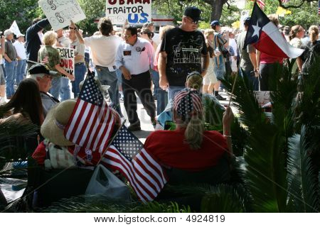 San Antonio Tea Party Rally