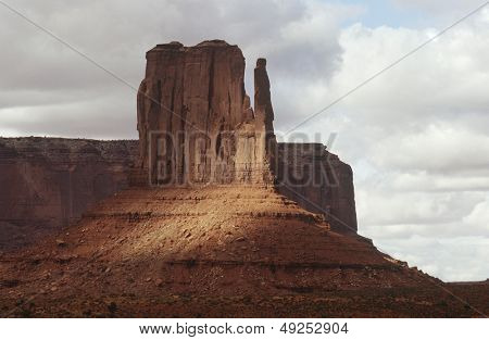 USA Arizona rock formation in Monument Valley
