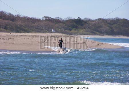 Surfer - Costa Rica