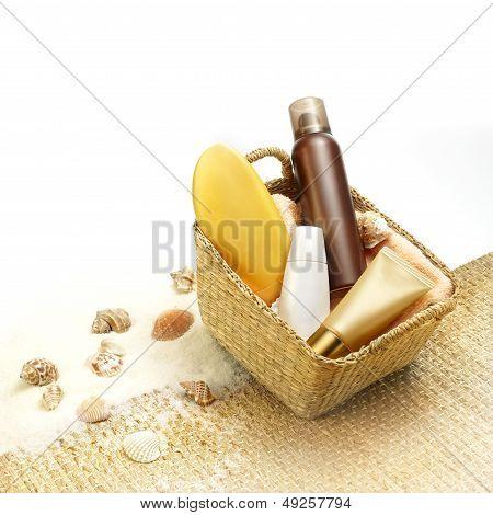 Suntan Cosmetics
