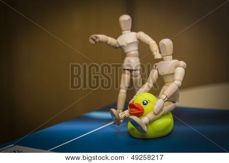 duck riding