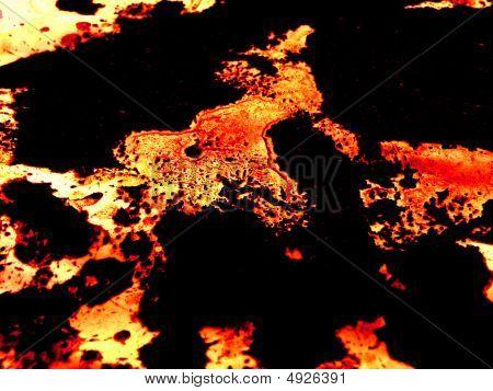 Molten Lava Background