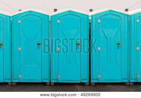 Porta Pottie Line Up