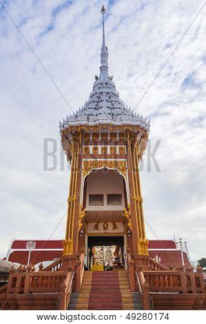 Architecture Of Thai Crematory