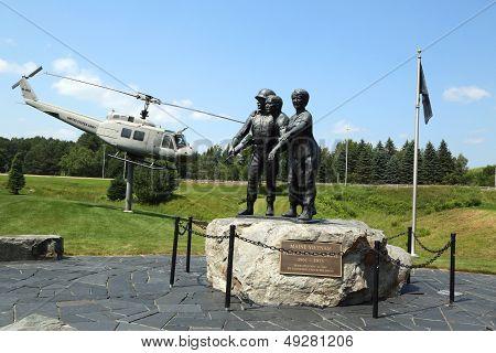 Vietnam War Memorial in Bangor, Maine