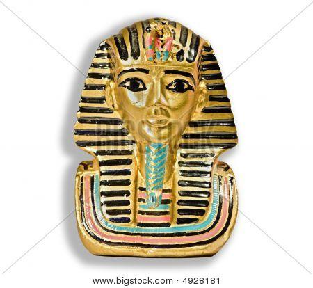 Kleine dekorative Statue von Pharao