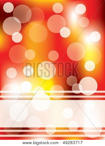 Dots & Magma Design Background