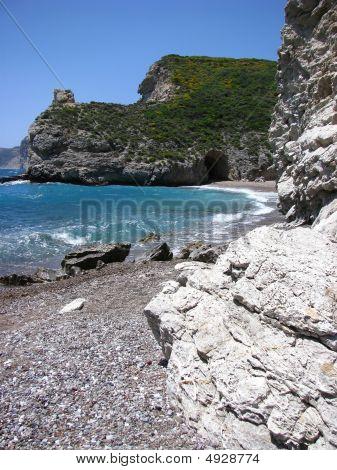 A Bay In The Mediterranean
