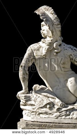 Wounded Achilles from Achilion palace at Corfu