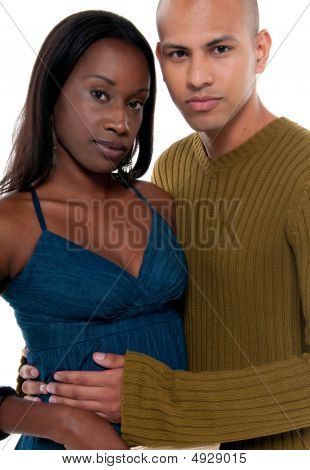 Multiracial Couple
