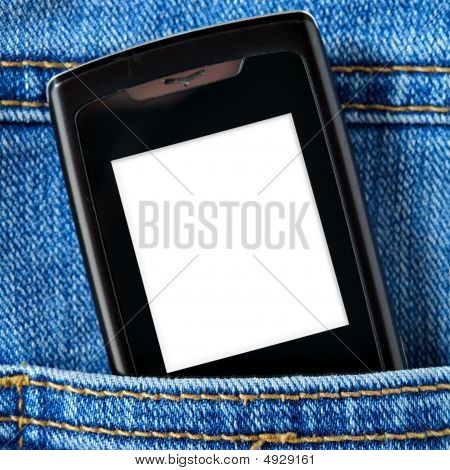 Cellular In Jeans Pocket