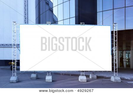 Blank Fabric Billboard