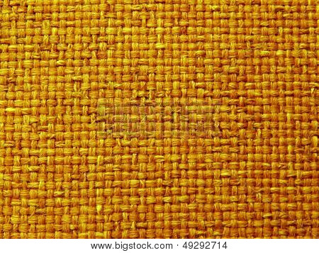 Yellow Woven Fabric