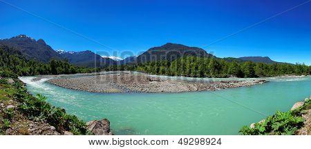 Queulat National Park, Aysen, Patagonia, Chile