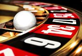 picture of addiction  - high resolution 3D rendering of a roulette - JPG
