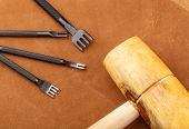 picture of leather tool  - Leather craft tool - JPG