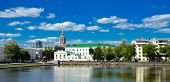 stock photo of ekaterinburg  - Yekaterinburg cityscape downtown day light - JPG