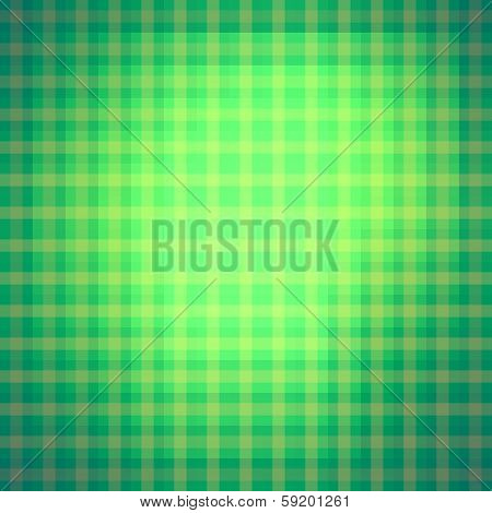 creative stripes pattern green background vector