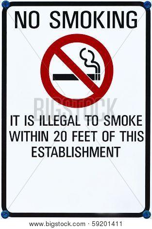 No Smoking Sing