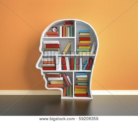 Bookshelf  With Book