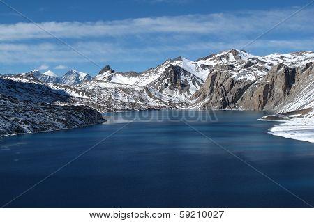 Unique Lake Tilicho, Nepal