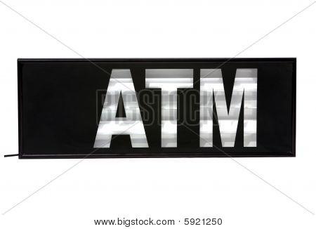 Geldautomat Zeichen