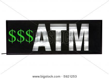 Automatic Teller Machine sign