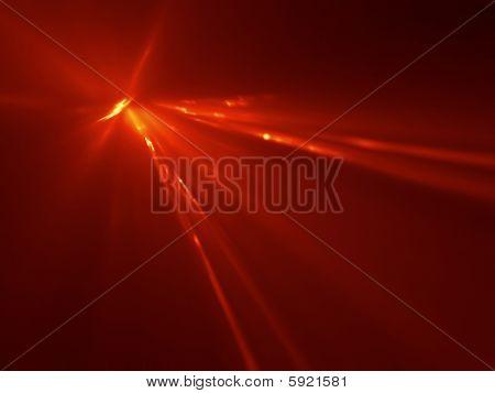 Meteor Airburst - 3D Fractal Illustration