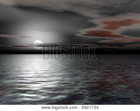 Grayest Morning - 3D Illustration