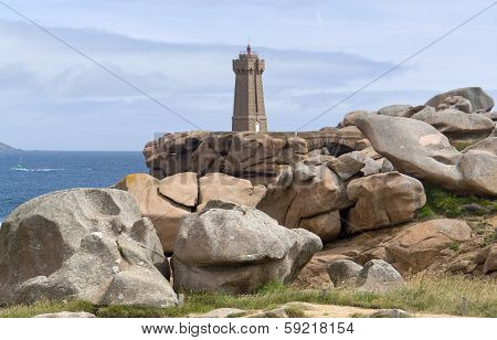 Lighthouse At Perros-guirec