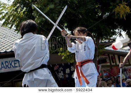 Nisei Week Martial Arts Demo