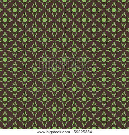 creative flower seamless pattern stock vector