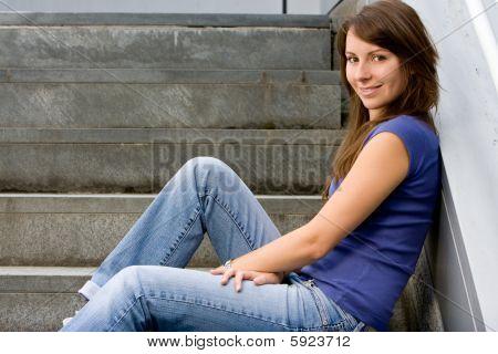 Attractive Young Teenage Girl