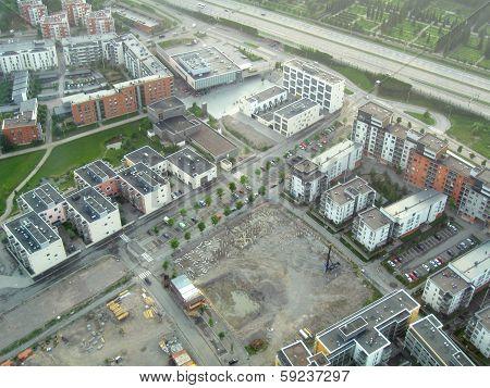 Suburb development