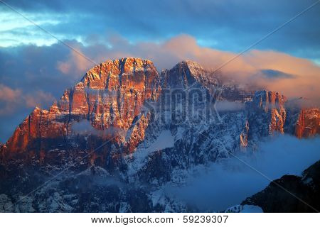 Civetta in the Dolomites, Italy, Europe