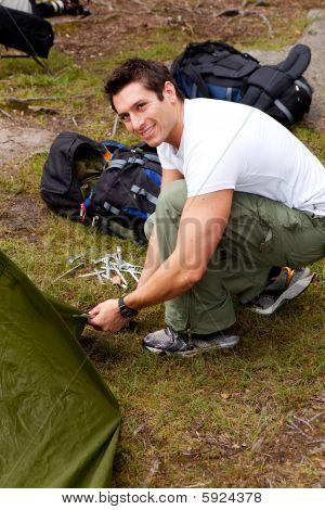 Camping Portrait