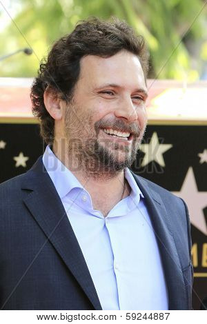 LOS ANGELES - JAN 29: Jeremy Sisto at a ceremony as Cheryl Hines is honored with 2,516th Star on the Hollywood Walk of Fame on January 29, 2014 in Los Angeles, CA