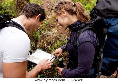 Orienteering Couple