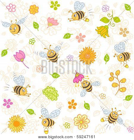 bees seamless